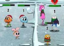 卡通明星打雪仗2無敵版