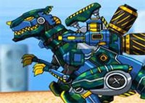 組裝機械變形恐龍3