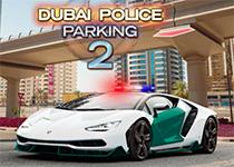 迪拜警察停車場2