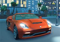 3D夜城 雙人賽車