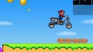 超級瑪莉摩托車